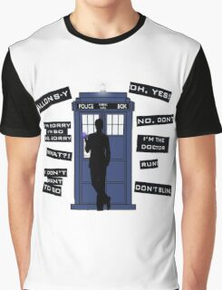 Ten's Quotes. Graphic T-Shirt