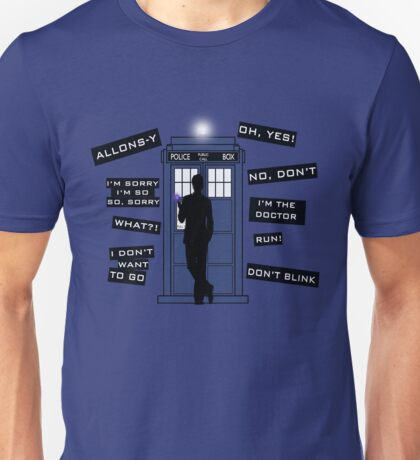 Ten's Quotes. Unisex T-Shirt