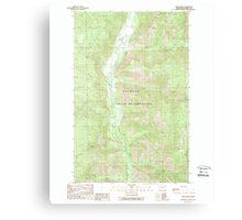 USGS Topo Map Washington State WA Louie Creek 242075 1989 24000 Canvas Print