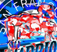 WARRIORS WHITE Sticker