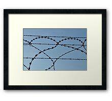 Love Hurts Framed Print