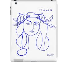 Picasso's Muse iPad Case/Skin