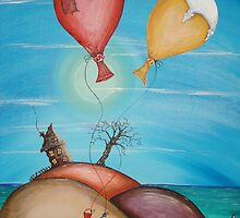 On Holiday by Krystyna Spink