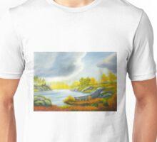 Autumnal landscape Unisex T-Shirt