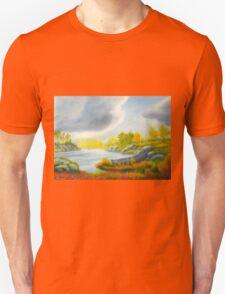 Autumnal landscape T-Shirt