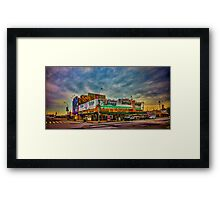 Nathan's The Original Since 1916 in Coney Island Framed Print
