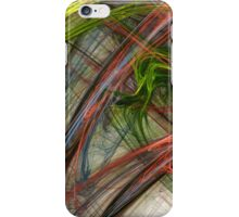 Flame Fractals iPhone Case/Skin