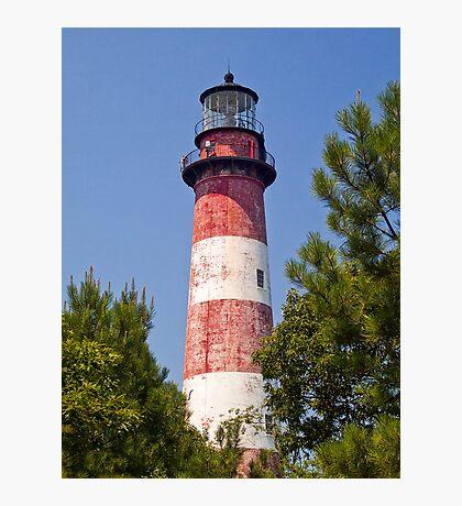 Assateague Island LIghthouse, Virginia Photographic Print