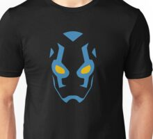 Blue Beetle Mask Unisex T-Shirt