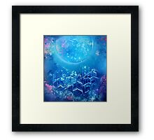 Coral City Spray Painting  Framed Print