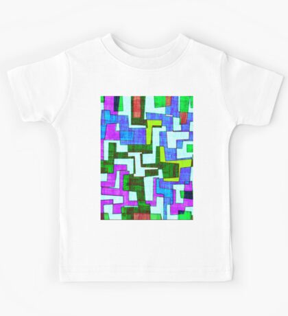 0117 Abstract Thought Kids Tee