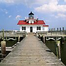Roanoke Marshes Lighthouse, Manteo, North Carolina by Kenneth Keifer