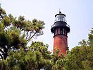 Currituck Beach Lighthouse, Carolla, North Carolina by Kenneth Keifer