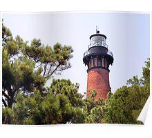 Currituck Beach Lighthouse, Carolla, North Carolina Poster