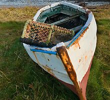 Lindisfarne boat by StephenRB