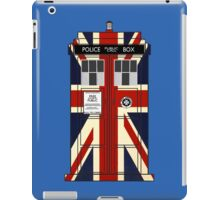 Union Jack Police Call Box. iPad Case/Skin