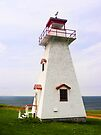 Cape Tryon Light, Prince Edward Island, Canada by Kenneth Keifer