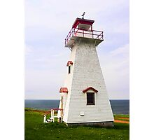 Cape Tryon Light, Prince Edward Island, Canada Photographic Print