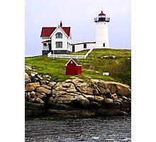 Cape Neddick's Nubble LIght, York, Maine Photographic Print