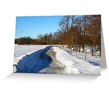 Osuden trails Greeting Card