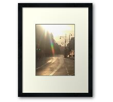 Oxford Street London  Framed Print