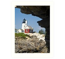 Pemaquid Point Lighthouse, Bristol, Maine Art Print