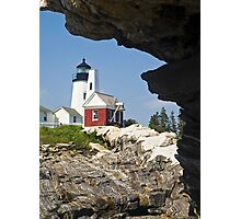 Pemaquid Point Lighthouse, Bristol, Maine Photographic Print
