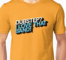 Dubstep - The True Fan (Orange/Blue) Unisex T-Shirt