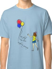 we fell in love with our gravity part 1 Classic T-Shirt