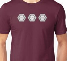 Baskerville Research Base [Triple logo] Unisex T-Shirt