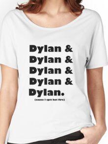 Dylan's Favorite Rapper List Women's Relaxed Fit T-Shirt