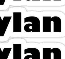 Dylan's Favorite Rapper List Sticker