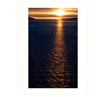 Alaskan Inside Passage  Art Print