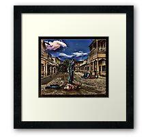 Stagecoach Framed Print