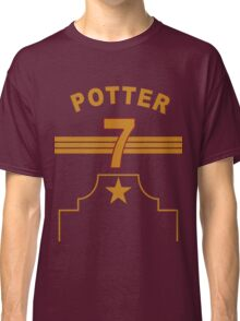 Harry Potter - Gryffindor Quidditch Team Classic T-Shirt