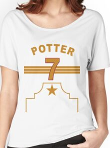 Harry Potter - Gryffindor Quidditch Team Women's Relaxed Fit T-Shirt