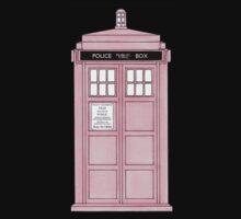 Pink TARDIS. by trumanpalmehn