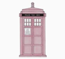 Pink TARDIS. Kids Clothes