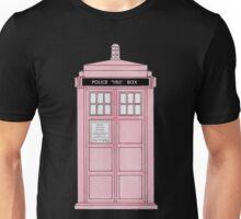 Pink TARDIS. Unisex T-Shirt