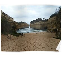 Lochard Gorge, Port Campbell Poster