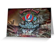 Grateful Dead 50th Anniversary  Greeting Card