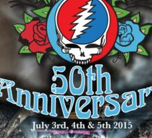 Grateful Dead 50th Anniversary  Sticker