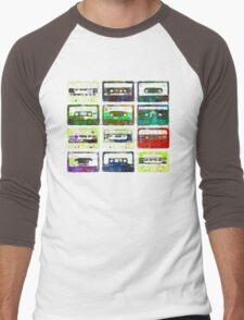 Cassettes #3 Men's Baseball ¾ T-Shirt