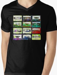 Cassettes #3 Mens V-Neck T-Shirt