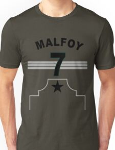 Draco Malfoy - Slytherin Quidditch Team Unisex T-Shirt