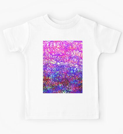 0144 Abstract Thought Kids Tee