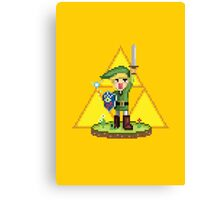 Zelda - Boy from the Forest Canvas Print