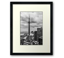 CN Tower Framed Print