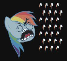 Rainbow Dash FU by BlackPenguin