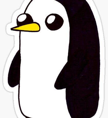 Penguin. Sticker